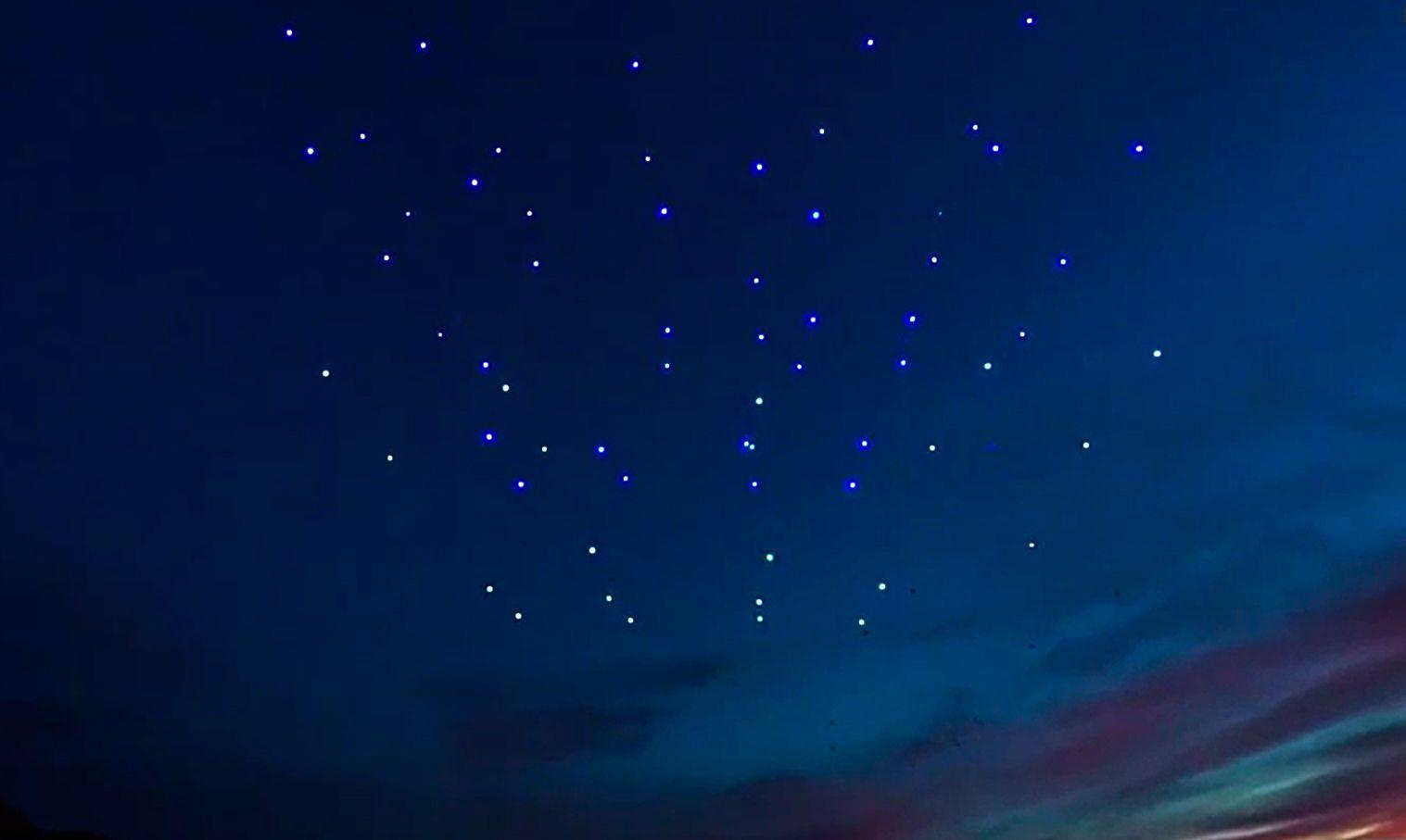 Espectáculo drones